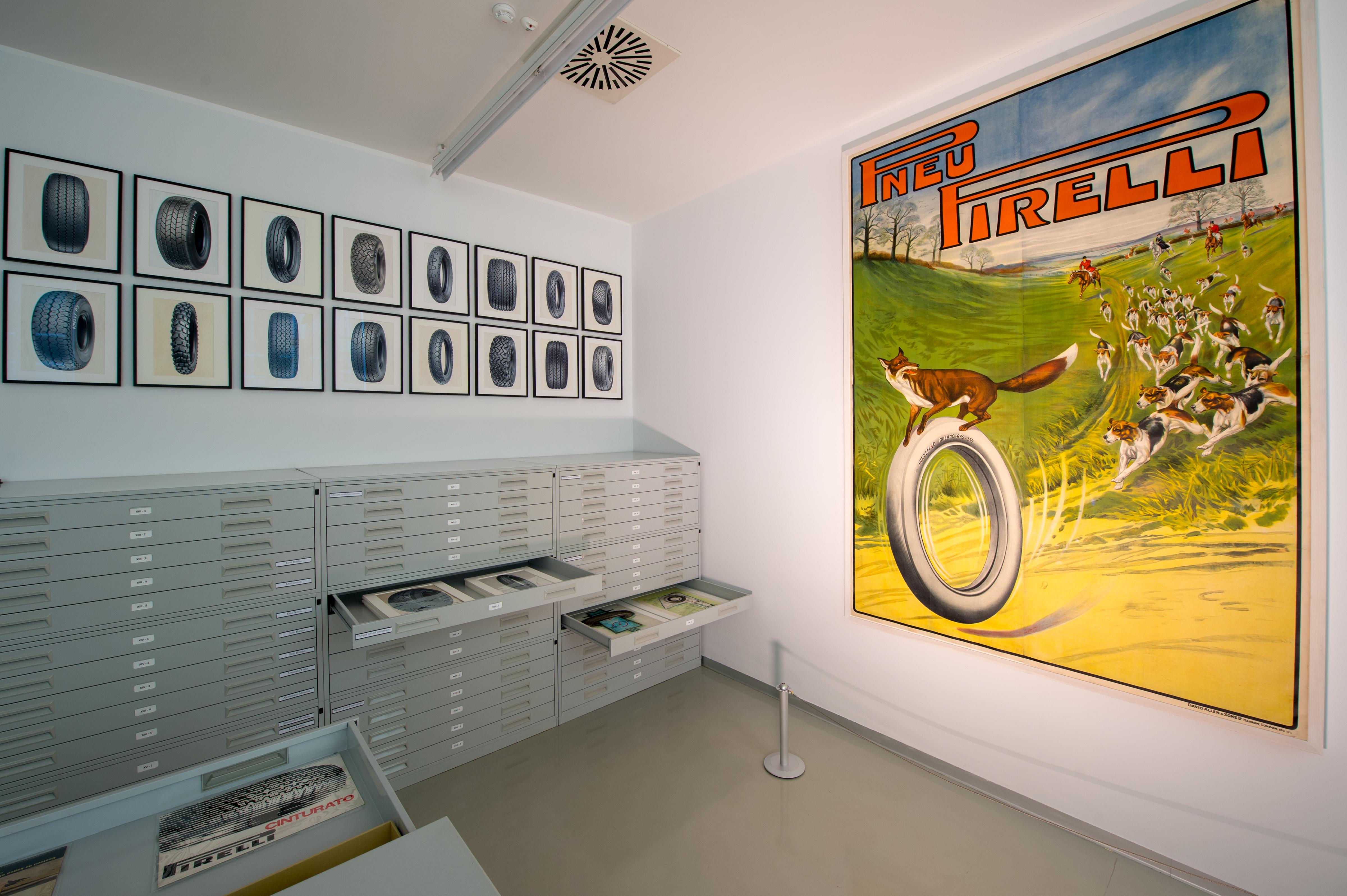 L'Archivio Storico Pirelli, Ippistudio (Fondazione Pirelli)